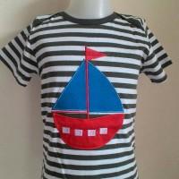 Jual Kaos anak cowok garis-garis perahu Murah