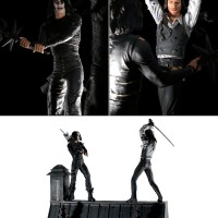CT522 Neca The Crow Rooftop Battle Boxset
