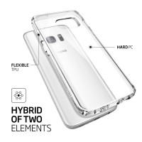 Spigen Galaxy S7 Case Ultra Hybrid - Crystal Clear