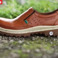 Kickers safety, sepatu slop safety, sepatu ujung besi