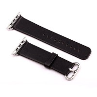 Onix Wime A9 Smartwatch accesories Leather 42mm For Apple Watch - Blac