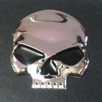 Tank Emblem Harley Davidson Willie G Skull Chrome