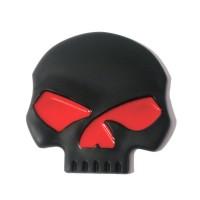 Tank Emblem Harley Davidson Willie G Skull Black Dop