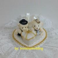 Tempat Cincin Pernikahan - Bantal Cincin Tunangan