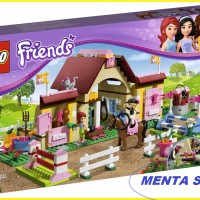 LEGO Friends # 3189 Heartlake Stables Horse Rider Horse Stable Sealed