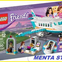 LEGO Friends # 41100 Heartlake Private Jet Vacation Olivia Matthew