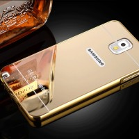 Luxury Aluminum Metal + PC Mirror Case for Samsung Galaxy Note 3