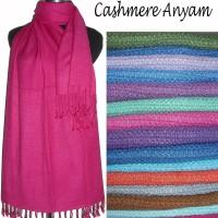 Cashmere Anyam / Tenun Kecil