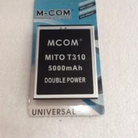 baterai mito T310 double power
