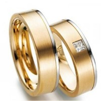 cincin perak couple lapis rhodium emas sepasang nikah tunangan CP221