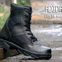sepatu boots adidas delta kulit