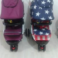 harga stroller roda 3 labelle Tokopedia.com