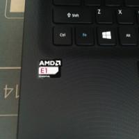 "Notebook Acer ES1 420-39J6 Black, AMD E1, Layar 14"""