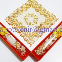 Souvenir Tatakan Gelas Box