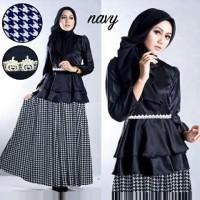 Grosir Baju Wanita / Busana Muslim / Baju Muslim / Rania Set Blouse