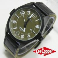Jam Tangan Pria / Cowok Lee Cooper Canvas 89GF