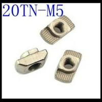 T nut/hamer head nut/ mur T M5 cocok untuk aluminium profile 20X20.