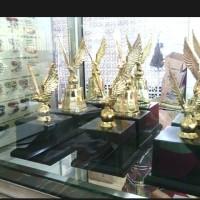 Piala trophy JS-25 garuda emas