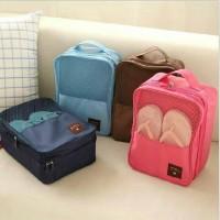 travel bag/ tas sepatu / shoes pouch travelling/ septu/ sendal