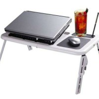 MEJA LAPTOP E TABLE STAND DESK + FAN LT 810