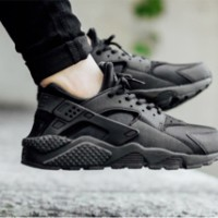 Nike Huarache Triple Black original size 37.5