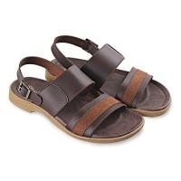 Sandal Casual Pria / Sendal Kulit Murah / Sandal Pria Trendi Tali Kulit