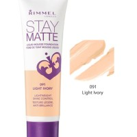 Rimmel Stay Matte Foundation Light Ivory