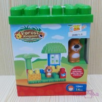 forest kingdom creative blocks (educative toy)