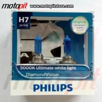 Philips Diamond Vision H7 Putih 5000K
