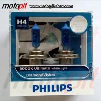 Philips Diamond Vision H4 Putih 5000K