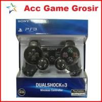 Sony Stik Wireless PS3 Ori Pabrik - Charcoal Black [PCB Plastik]