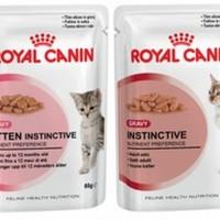 royal canin wetfood kitten instinctive jelly / gravy 85gr
