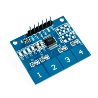 TTP224 4 Channel Capacitive Digital Touch Switch Sensor Sentuh AG70