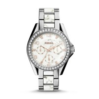 Fossil ES3973 - Riley Multifunction Stainless Steel Watch