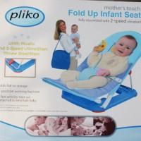 Bouncer Fold Up Infan Seat Mother's Touch Biru - Pliko