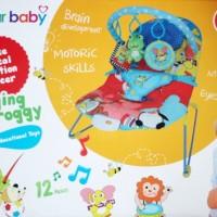 SUGAR BABY Bouncer Singing Froggy Education - Sugar EN12790