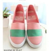 OBRAL GILA2an Sneakers Maximum Flat Casual Peach TILL 20 NOV