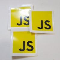 Stiker Javascript Vinyl