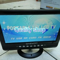harga Tv Ondash 9,5 Inch Daewo Usb Mp5 Movie Tokopedia.com