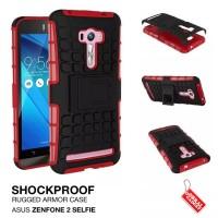 harga Asus Zenfone 2 Selfie Rugged Shockproof Armor Hybrid Hard & Soft Case Tokopedia.com