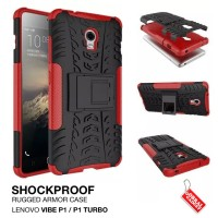 Lenovo Vibe P1 Turbo Rugged Shockproof Armor Hybrid Hard & Soft Case