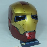 Ironman Iron Man Helmet Helm Real Size Cosplay