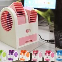 AC Duduk Aroma Terapi Mini Portable Fragrance Handy Cooler Kipas Fan