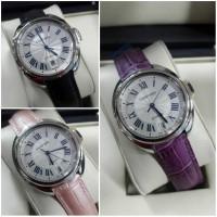 Jam Tangan Cewek Wanita Cartier Swiss Eta