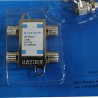 Splitter Tv Merk Rayden 3 Cabang Catv Directional Coupler The Best