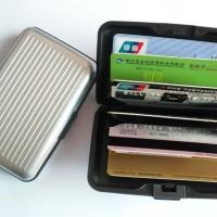 - Dompet Kartu Nama / Aluminium Card Holder / Dompet Kartu Anti Air