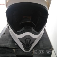 harga Helm Cargloss Full Face Super Moto Snail Cross Fullface White Tokopedia.com