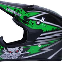 harga Helm Cargloss Full Face Super Moto Snail Cross Fullface Motif Tokopedia.com