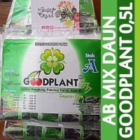 Nutrisi Hidroponik (AB Mix) GOODPLANT Sayuran Daun 0,5L