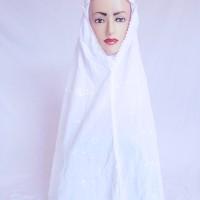 harga Jilbab Putih Minang Katun Korea XXL - Perlengkapan Haji dan Umroh Tokopedia.com
